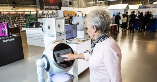 Cruzr Robot for Retail