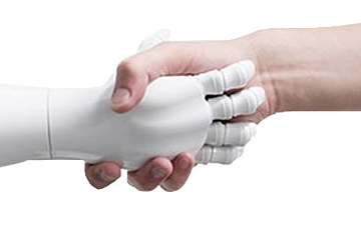 Pepper hand check- Transparent
